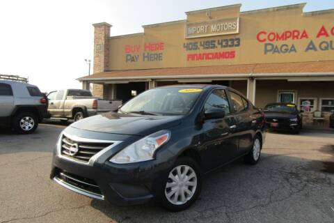 2017 Nissan Versa for sale at Import Motors in Bethany OK