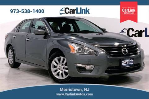 2015 Nissan Altima for sale at CarLink in Morristown NJ