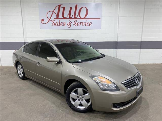 2007 Nissan Altima for sale at Auto Sales & Service Wholesale in Indianapolis IN