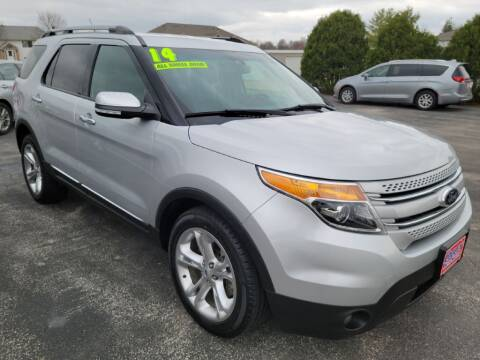 2014 Ford Explorer for sale at Cooley Auto Sales in North Liberty IA