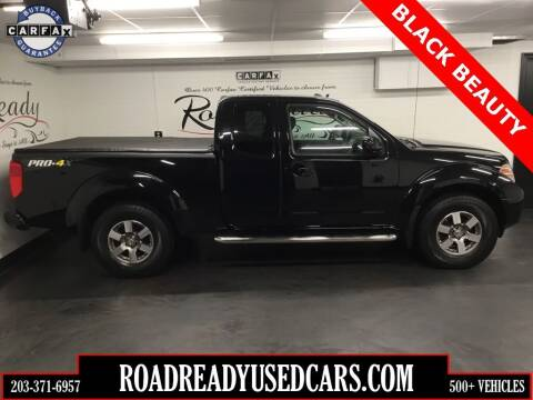 2013 Nissan Frontier for sale at Road Ready Used Cars in Ansonia CT