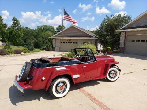 1948 Willys Overland for sale at Classic Car Deals in Cadillac MI