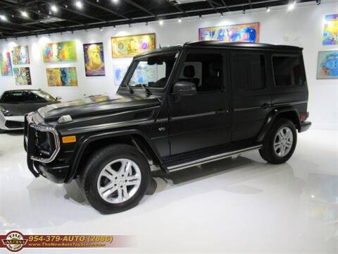 2014 Mercedes-Benz G-Class for sale at The New Auto Toy Store in Fort Lauderdale FL