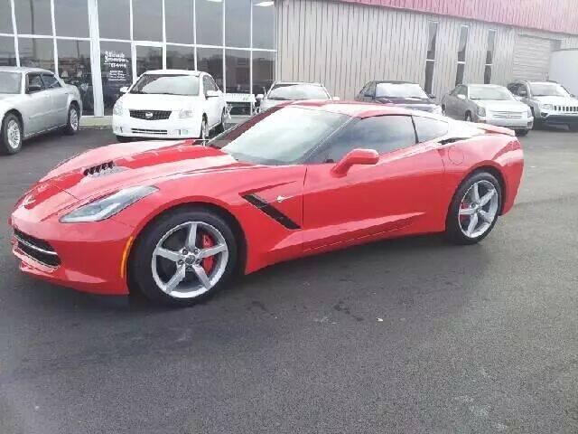 2014 Chevrolet Corvette for sale at Affordable Automotive, LLC in Bristol TN