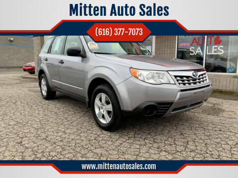 2011 Subaru Forester for sale at Mitten Auto Sales in Holland MI