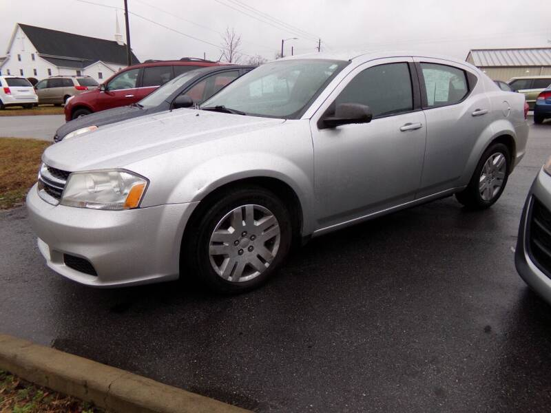2012 Dodge Avenger for sale at Creech Auto Sales in Garner NC