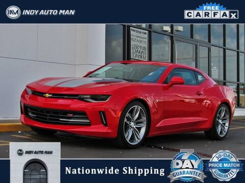 2017 Chevrolet Camaro for sale at INDY AUTO MAN in Indianapolis IN