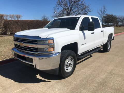 2015 Chevrolet Silverado 2500HD for sale at Taylor Investments in Plano TX