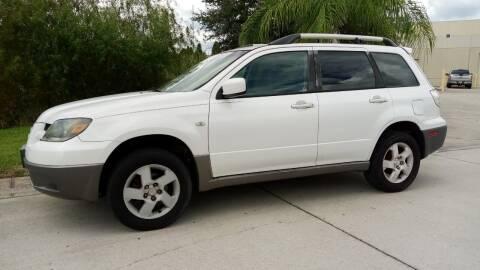 2003 Mitsubishi Outlander for sale at Coastal Car Brokers LLC in Tampa FL