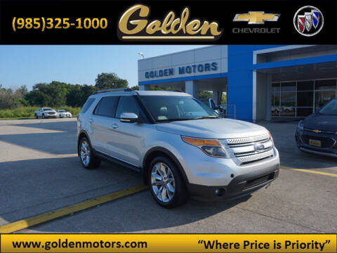 2014 Ford Explorer for sale at GOLDEN MOTORS in Cut Off LA