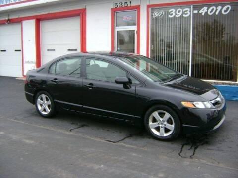 2007 Honda Civic for sale at Cedar Auto Sales in Lansing MI