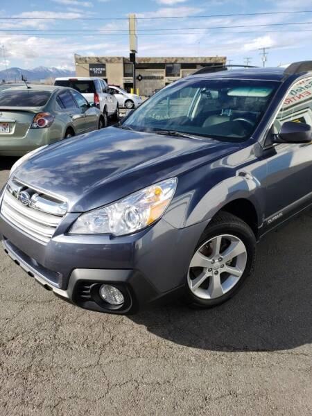 2016 Subaru Outback for sale at M&M Motors in Salt Lake City UT