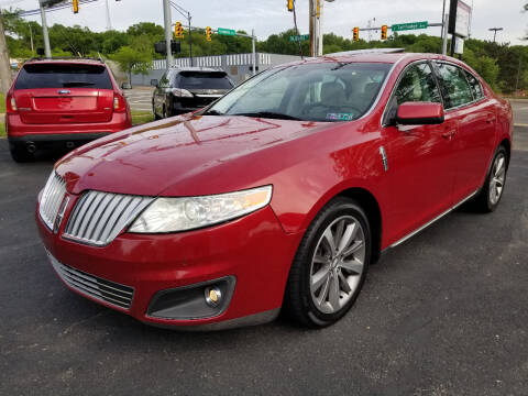 2009 Lincoln MKS for sale at Cedar Auto Group LLC in Akron OH
