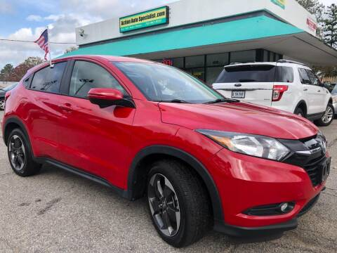 2018 Honda HR-V for sale at Action Auto Specialist in Norfolk VA