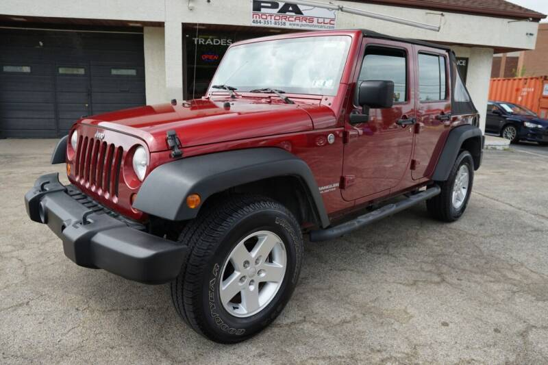 2011 Jeep Wrangler Unlimited for sale at PA Motorcars in Conshohocken PA
