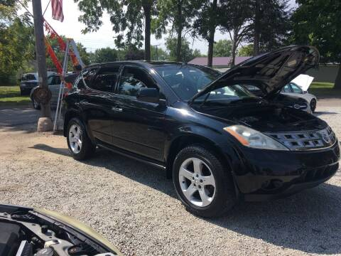 2005 Nissan Murano for sale at Antique Motors in Plymouth IN