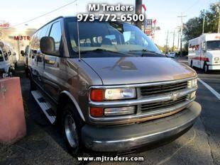 2000 Chevrolet Express Passenger for sale at M J Traders Ltd. in Garfield NJ