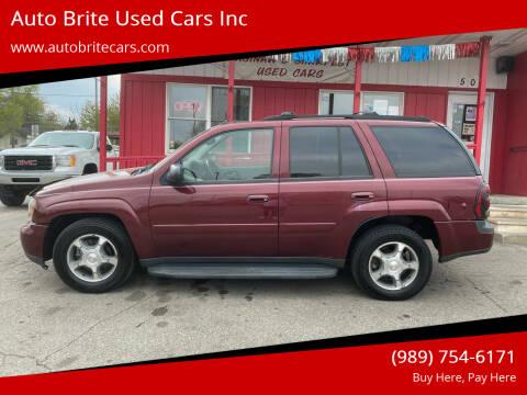 2005 Chevrolet TrailBlazer for sale at Auto Brite Used Cars Inc in Saginaw MI