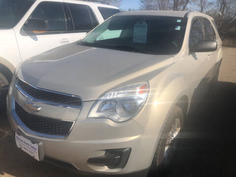 2011 Chevrolet Equinox for sale at BARNES AUTO SALES in Mandan ND