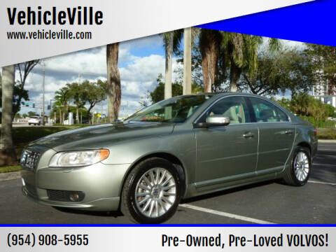 2008 Volvo S80 for sale at VehicleVille in Fort Lauderdale FL