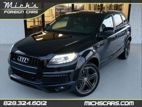 2014 Audi Q7 for sale at Mich's Foreign Cars in Hickory NC