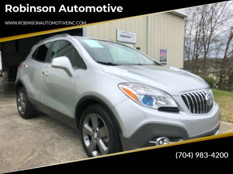 2014 Buick Encore for sale at Robinson Automotive in Albermarle NC