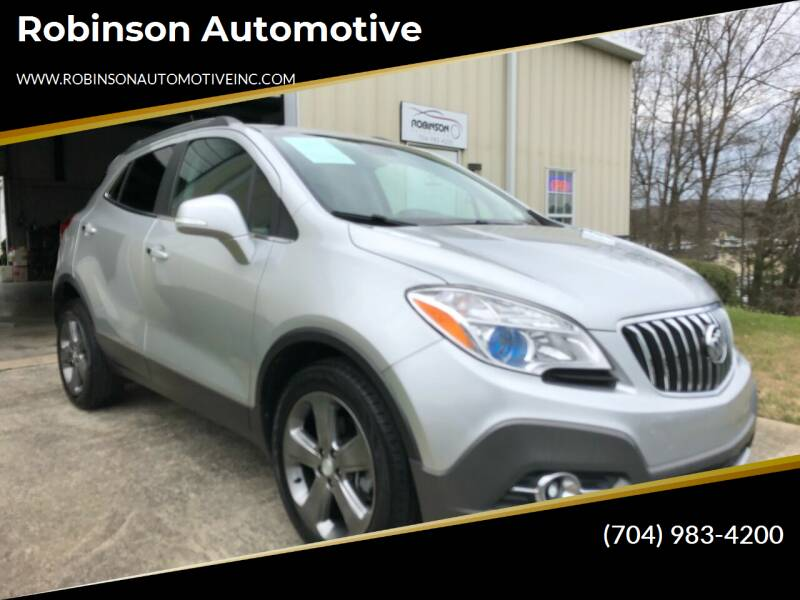 2014 Buick Encore for sale at Robinson Automotive in Albemarle NC