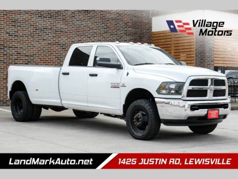 2018 RAM Ram Pickup 3500 for sale at Village Motors in Lewisville TX