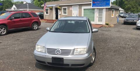 2002 Volkswagen Jetta for sale at AUTO OUTLET in Taunton MA