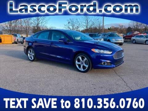 2016 Ford Fusion for sale at LASCO FORD in Fenton MI