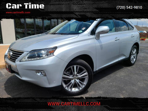 2015 Lexus RX 350 for sale at Car Time in Denver CO