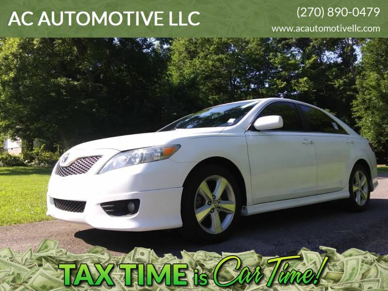 2010 Toyota Camry for sale at AC AUTOMOTIVE LLC in Hopkinsville KY