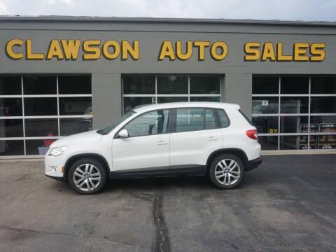 2011 Volkswagen Tiguan for sale at Clawson Auto Sales in Clawson MI