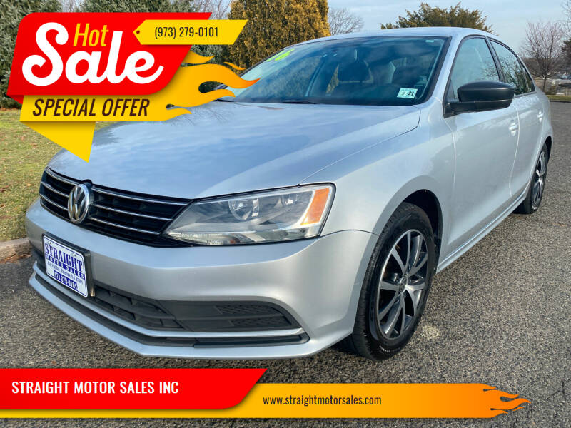 2016 Volkswagen Jetta for sale at STRAIGHT MOTOR SALES INC in Paterson NJ