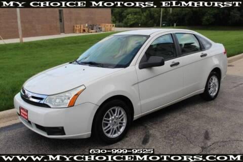 2009 Ford Focus for sale at My Choice Motors Elmhurst in Elmhurst IL