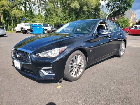 2018 Infiniti Q50 for sale at AFFORDABLE IMPORTS in New Hampton NY