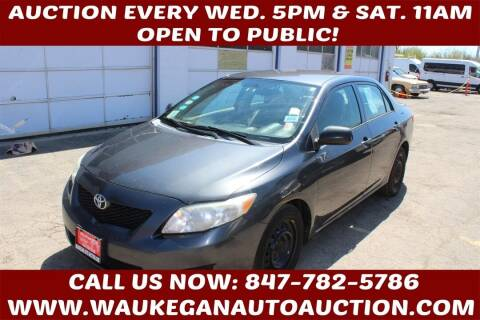 2010 Toyota Corolla for sale at Waukegan Auto Auction in Waukegan IL