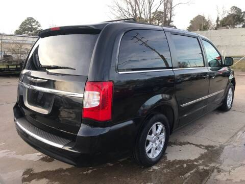 2012 Chrysler Town and Country for sale at Whites Auto Sales in Portsmouth VA