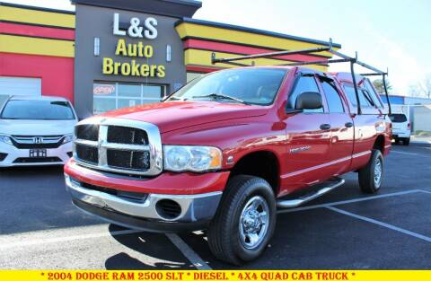 2004 Dodge Ram Pickup 2500 for sale at L & S AUTO BROKERS in Fredericksburg VA