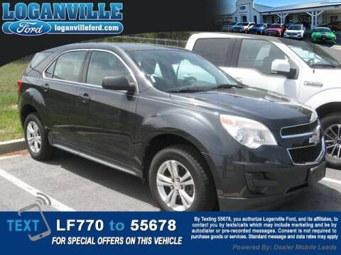 2012 Chevrolet Equinox for sale at Loganville Quick Lane and Tire Center in Loganville GA