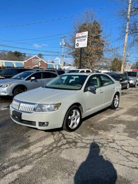 2008 Lincoln MKZ for sale at NEWFOUND MOTORS INC in Seabrook NH