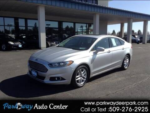 2013 Ford Fusion for sale at PARKWAY AUTO CENTER AND RV in Deer Park WA