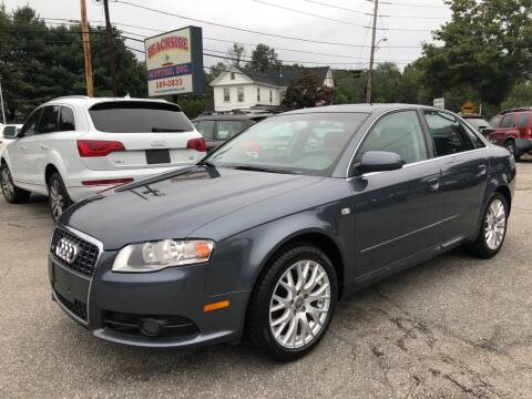 2008 Audi A4 for sale at Beachside Motors, Inc. in Ludlow MA