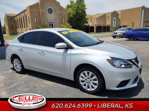 2019 Nissan Sentra for sale at Lewis Chevrolet Buick of Liberal in Liberal KS