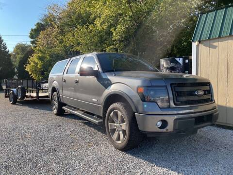 2013 Ford F-150 for sale at Claborn Motors, INC in Cambridge City IN