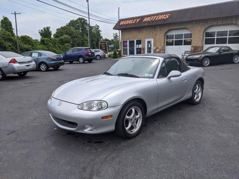 2002 Mazda MX-5 Miata for sale at Worley Motors in Enola PA