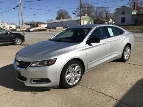 2016 Chevrolet Impala for sale at Kemper Motors Inc in Cameron MO