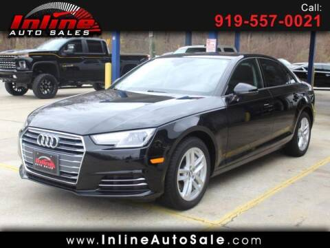 2017 Audi A4 for sale at Inline Auto Sales in Fuquay Varina NC