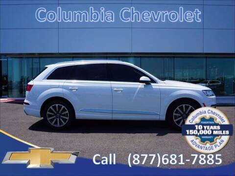 2018 Audi Q7 for sale at COLUMBIA CHEVROLET in Cincinnati OH