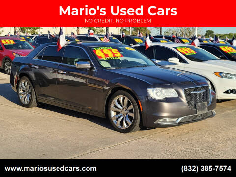 2015 Chrysler 300 for sale at Mario's Used Cars in Houston TX